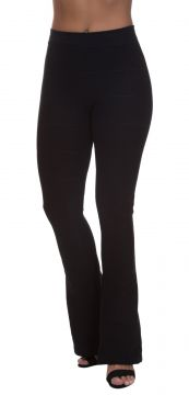 Calça Miss Blessed Flare Bandagem Preto Miss Blessed