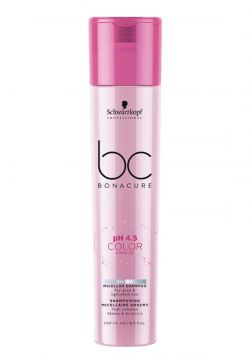 Bonacure Color Freeze Silver Micellar Shampoo 250ml Schwarz