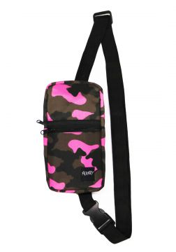 Mini Shoulder Bag Alkary Comprida Camuflada Rosa Alkary