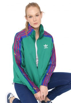 Jaqueta adidas Originals Track Top Verde adidas Originals