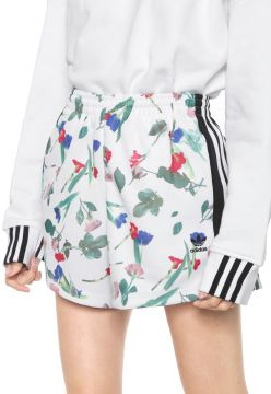 Short adidas Originals Aop Branco/Preto adidas Originals