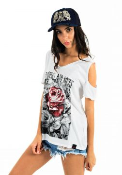 Camiseta AES 1975 Flowers and Roses Aes 1975