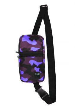 Mini Shoulder Bag Alkary Comprida Camuflada Roxa Alkary