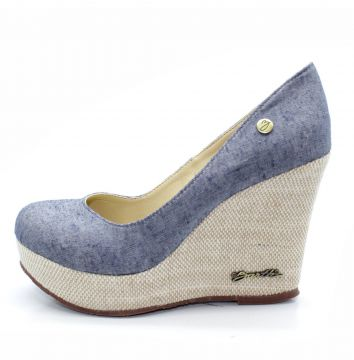 Sapato Barth Shoes Land Azul Jeans Barth Shoes