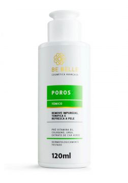 Be Belle Tonico Facial Poros Tonificacao e Hidratacao 120ml