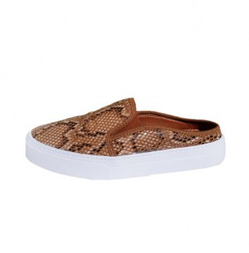 Mule Comitiva Boots Snake Caramelo Comitiva Boots