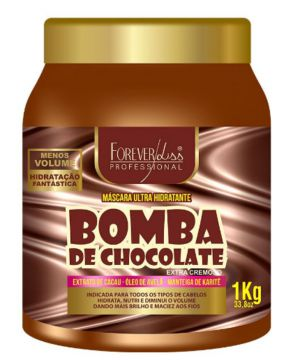 Máscara Forever Liss Bomba de Chocolate 1kg Forever Liss