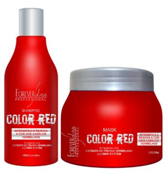 Kit Forever Liss Color Red Intensificador - 2 Produtos Fore