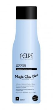 Magic Clay Plus Xcolor Felps Profissional 500ml Felps Profi