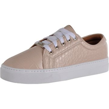 Tenis Casual Croco Charlotte Shoes Rosa Charlotte Shoes