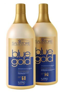 Progressiva Blue Gold Salvatore Sem Formol 2x1000ml Salvato