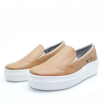 Tenis Barth Shoes Slip on Marrom Barth Shoes