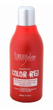 Shampoo Intensificador Forever Liss Color Red 300ml Forever