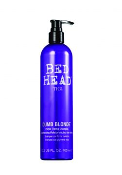 Shampoo Tigi Haircare Bed Head Dumb Blonde Purple 400ml Tig