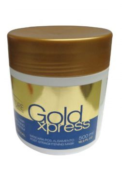 Máscara Pós Alisamento Gold Xpres Salvatore 500ml Salvatore