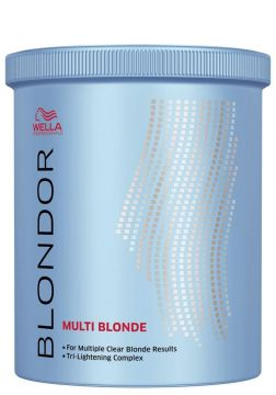 Wella Blondor Multi Blond Pó Descolorante Dust Free 800g We