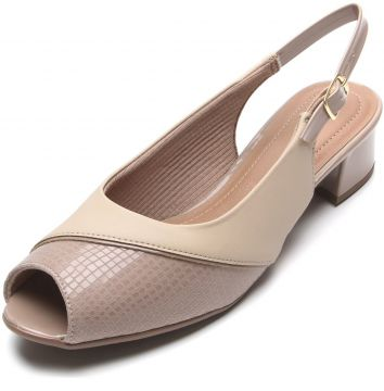 Peep Toe Piccadilly Cobra Nude Piccadilly
