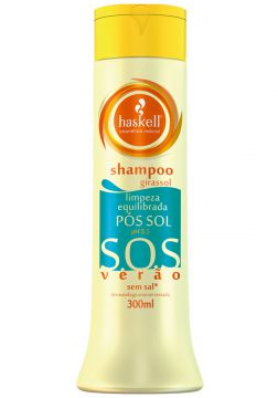Shampoo Pos Sol 300Ml Sos Haskell HASKELL