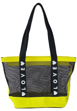 Bolsa Bag dreams De Praia Love Amarela Bag dreams