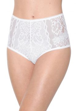 Calcinha Valisere Hot Pant Renda Branca Valisere