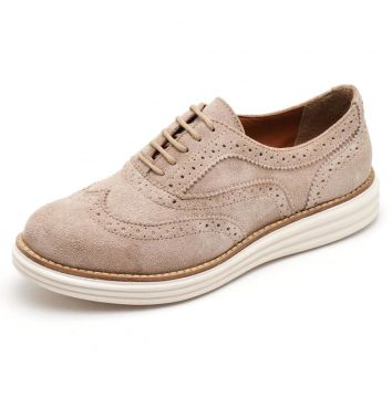 Tênis Oxford Leticia Alves 300 Areia Leticia Alves