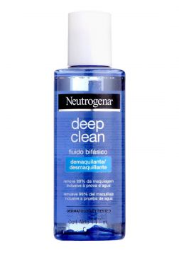 Demaquilante Neutrogena Deep Clean 117mL Neutrogena