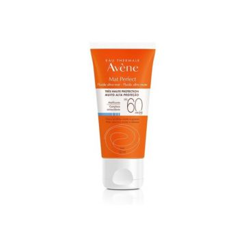 Eau Thermale Avène Fluido Mat Perfect s/ cor Fps 60 50ml Ea