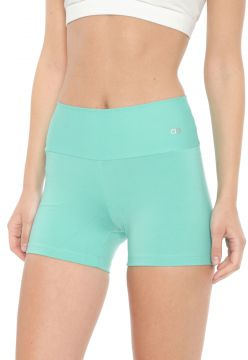 Short Alto Giro Supplex Termo Cinza/Azul Alto Giro