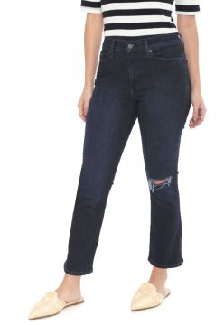 Calça Jeans Banana Republic Flare Cropped Mid-Rise Azul Ban