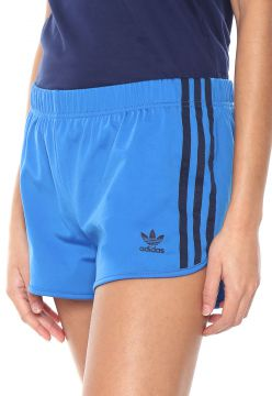 Short adidas Originals 3 Str Azul adidas Originals