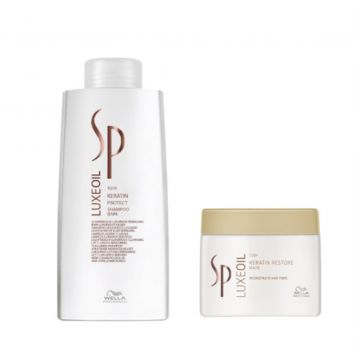Kit Shampoo e Máscara Wella SP Luxe Oil Wella