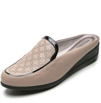 Scarpin Mule Piccadilly Monograma Nude Piccadilly