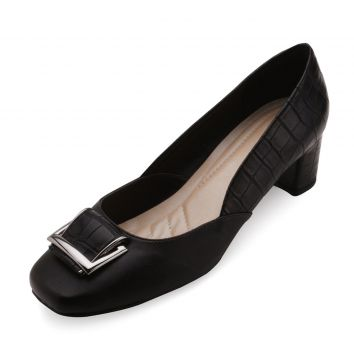 Sapato Lady Queen AM18-19016 Preto Lady Queen