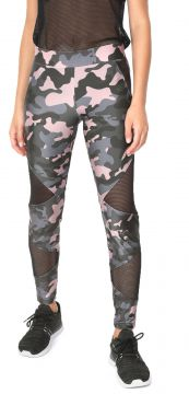 Legging HOPE RESORT Tela Militar Verde/Rosa HOPE RESORT