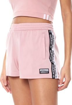 Short adidas Originals Tape Rosa adidas Originals