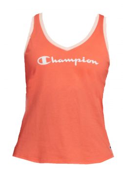 Camiseta Regata Champion Heritage Papaya Champion Brasil