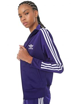 Jaqueta adidas Originals Firebird Tt Roxa adidas Originals