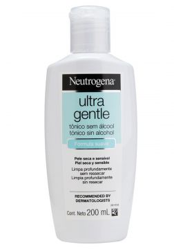 Tônico Facial Neutrogena Ultra Gentle sem Álcool 200mL Neut