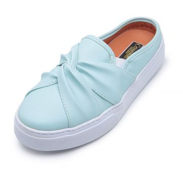 Tênis Casual Mule CRISTAISHOES Azul CRISTAISHOES