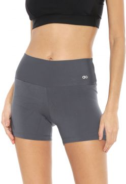 Short Alto Giro Supplex Termo Grafite Alto Giro