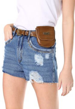 Short Jeans My Favorite Thing(s) Hot Pant Destroyed Azul My