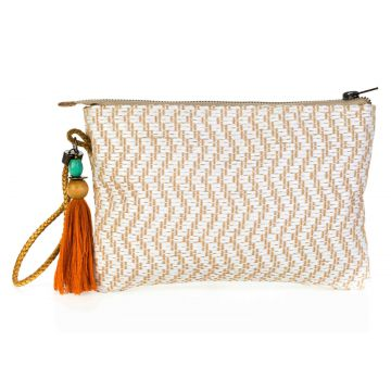 A Clutch Palha White A Clutch
