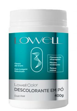 Lowell Color Pó Descolorante Clareamento Ultra Rápido 9 ton