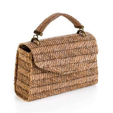 Bolsa A Clutch Palha Brown A Clutch