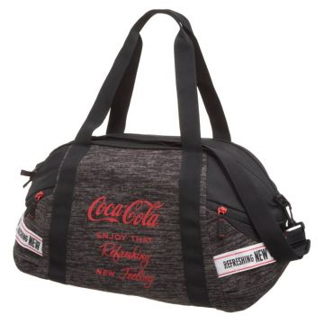 Bolsa Academia Coca Cola Connect Cinza Coca Cola Accessorie