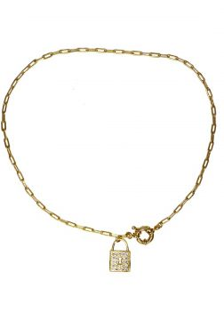 Colar La Madame Co Colar Choker Dourado La Madame Co