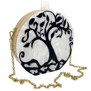 Bolsa Clutch Garden Tree La Madame Co La Madame Co