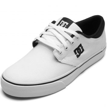 Tênis DC Shoes Dc Shoes Plaza Lite Branco DC Shoes