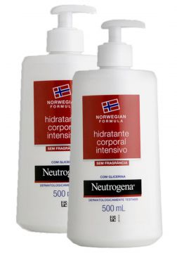 Kit com 2 Hidratantes Corporal Neutrogena Norwegian Body s/