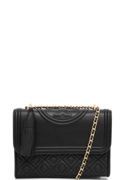 Bolsa Tory Burch Fleming Small Convertible Preto Tory Burch
